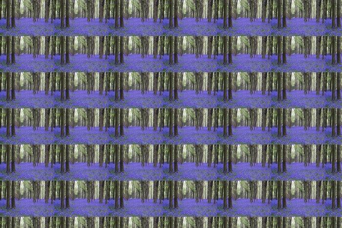 Vinylová Tapeta Vibrant Blue koberec Jarní prales terén - Lesy