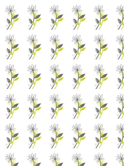 20_11 Vinyl Wallpaper - Flowers