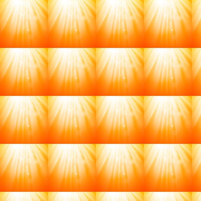 Vinylová Tapeta Vektorové ilustrace Natural oranžovém pozadí - Prodej