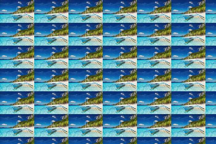 Vinylová Tapeta Tropické pláže, Filipíny - Prázdniny