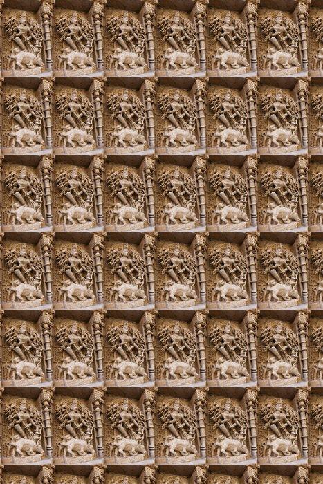 Vinylová Tapeta Socha v kroku Rani Ki Vav dobře v Patan, Gujarat, Indie - Asie