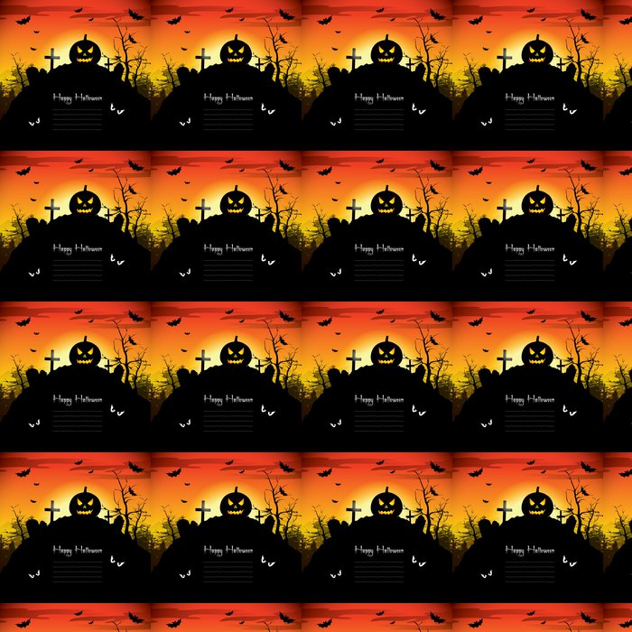 Vinylová Tapeta Halloween pozadí - Mezinárodní svátky