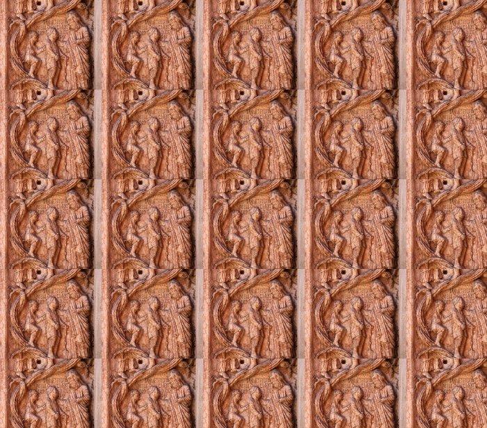 Vinylová Tapeta Christ Živé skutky milosrdenství, baptisterium, Parma, Itálie - Veřejné budovy