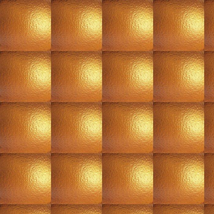 Vinylová Tapeta Velmi velký list z jemného zlata plisované hliníkovou fólií - Struktury