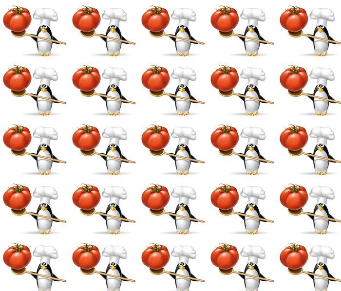 Vinylová Tapeta Pinguino Pomodoro 2 - Nálepka na stěny