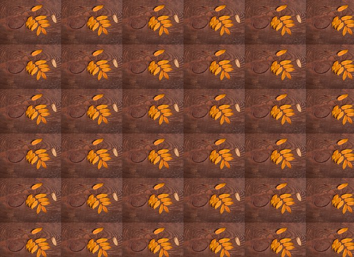 Vinylová Tapeta Podzimní listí Rowan - Roční období