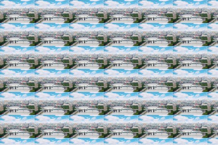 Vinylová Tapeta Pushkinsky a Krymsky mosty v den v Moskvě, Rusko - Asijská města