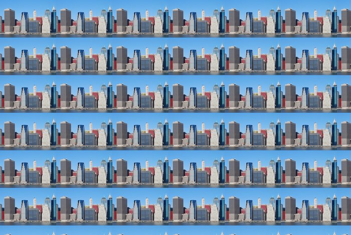 Vinylová Tapeta Manhattan pohled mrakodrap - Americká města