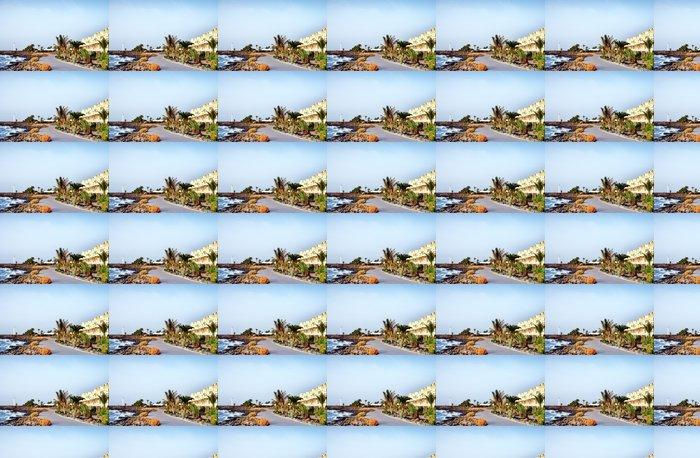 Vinylová Tapeta Nábřeží v Playa Blanca, Kanárské ostrovy - Evropa