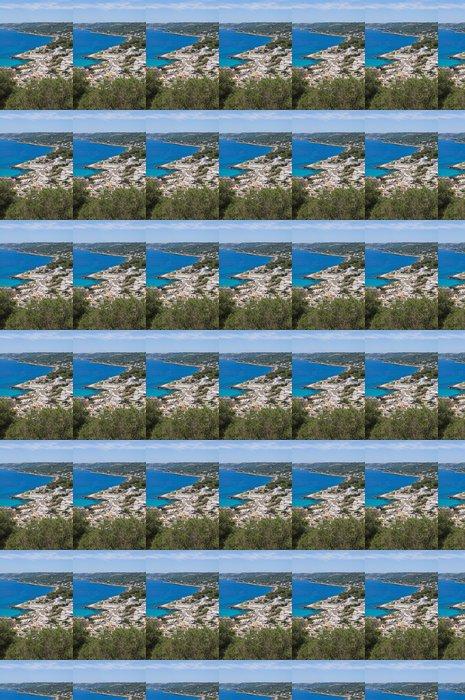 Vinyltapet Panoramautsikt över Castro. Puglia. Italien. - Helgdagar
