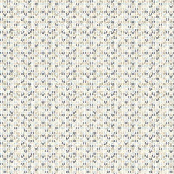 Saumaton geometrinen kuvio pastelliväreissä Itsestäänkiinnittyvä tapetti - Themes