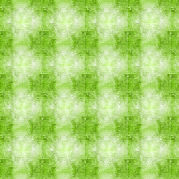Vinylová Tapeta Abstract green mosaic background - Roční období