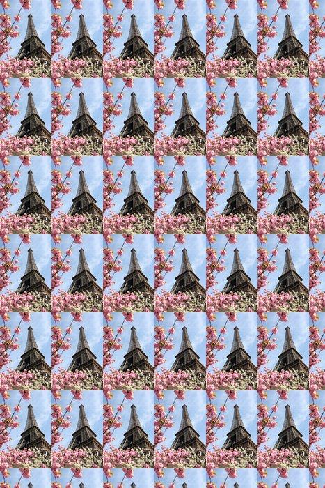 Vinylová Tapeta Eiffelova věž během jara v Paříži, Francie - Evropská města
