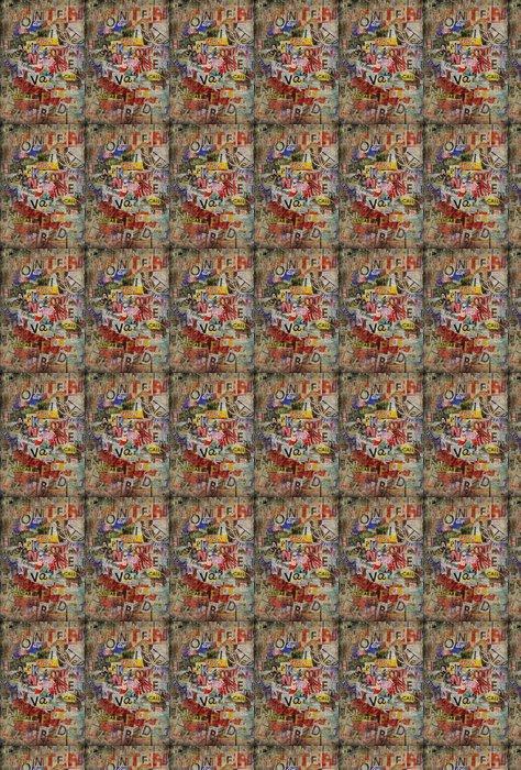 Grunge textured background Vinyl Wallpaper - Themes