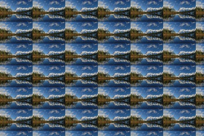 Vinylová Tapeta Obrázek jezero a Mt.Shuksan - Hory
