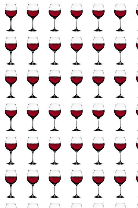 Vinylová Tapeta Sklenka červeného vína - Alkohol