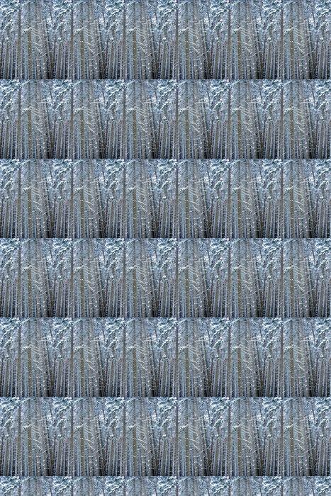 Vinylová Tapeta Tannenwald - Roční období