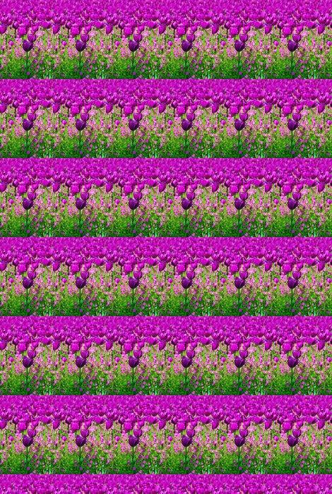 Vinylová Tapeta Fialové tulipány - Témata