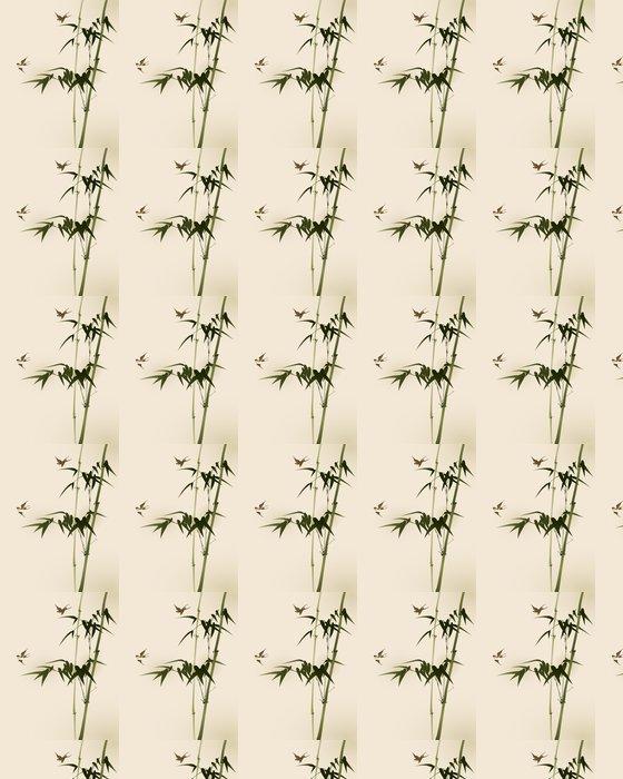 Vinylová Tapeta Bambusové větve, vectorized orientální styl malování - Témata