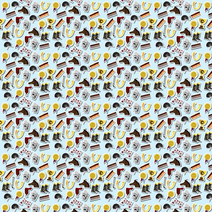 Vinylová Tapeta Barva jízda na koni vzor - Grafika