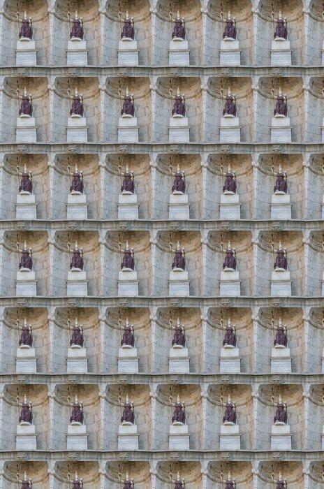 Vinylová Tapeta Socha v Římě na Capitol Hill ve Řím, Itálie - Evropská města