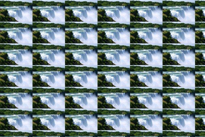 Vinylová Tapeta Niagara Falls letní čas - Amerika