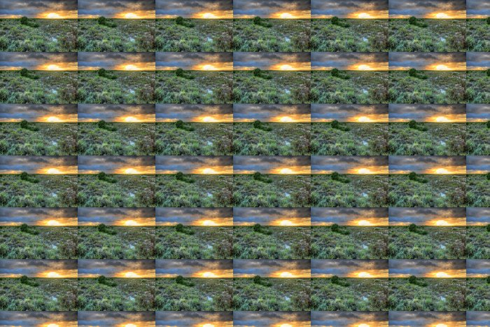Vinylová Tapeta Nullarbor západy slunce v Austrálii - Témata