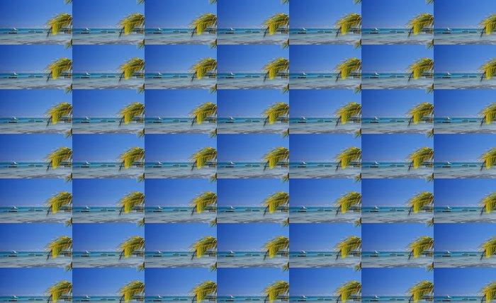 Vinylová Tapeta Skyline modrá laguna na pláži Bain Beauf - Afrika