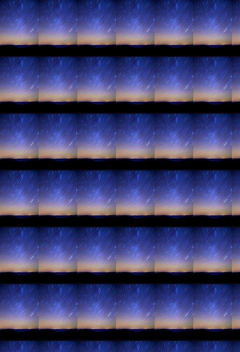 Vinylová Tapeta Sky hvězd v horách, otáčet, noční - Meziplanetární prostor