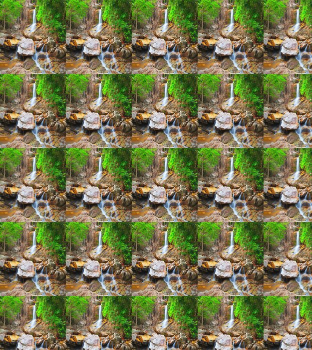 Vinylová Tapeta Krásná kaskádový vodopád, Koh Samui, Thajsko - Témata