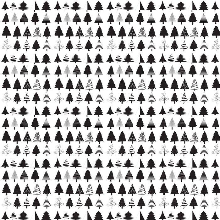 Vinylová Tapeta Vánoční stromky vektorové kolekce - Jídla