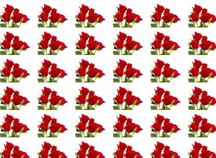 Vinylová Tapeta Přírodní červené růže pozadí - Imaginární zvířata