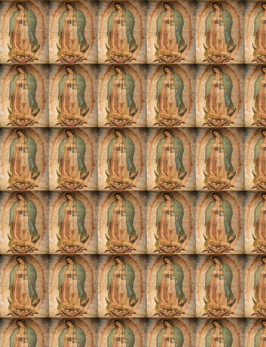 Vinylová Tapeta Guadalupe Painting 1531 Revelation Guadalupe Shrine Mexico - Cestování