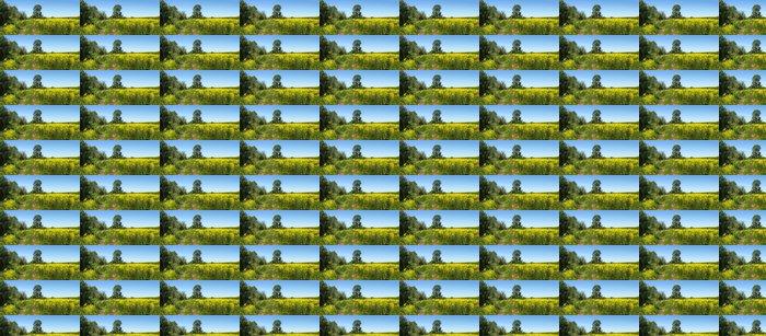 Vinylová Tapeta Krásná příroda, panoramatické scenérie - Roční období