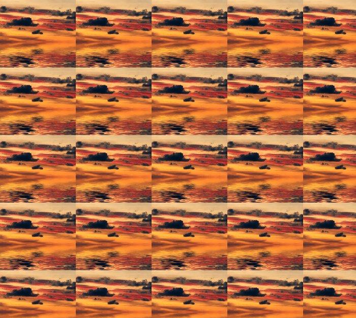 Vinylová Tapeta Západ slunce nad vodou - Nebe