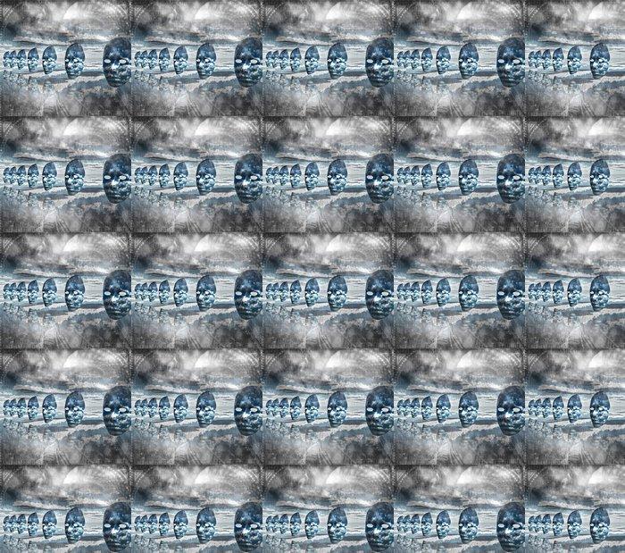Vinylová Tapeta Tváře v abstraktní kompozice prázdný - Jiné pocity