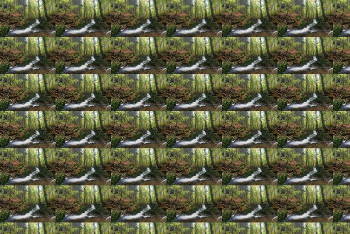 Vinylová Tapeta Brook v podzimním lese - Roční období