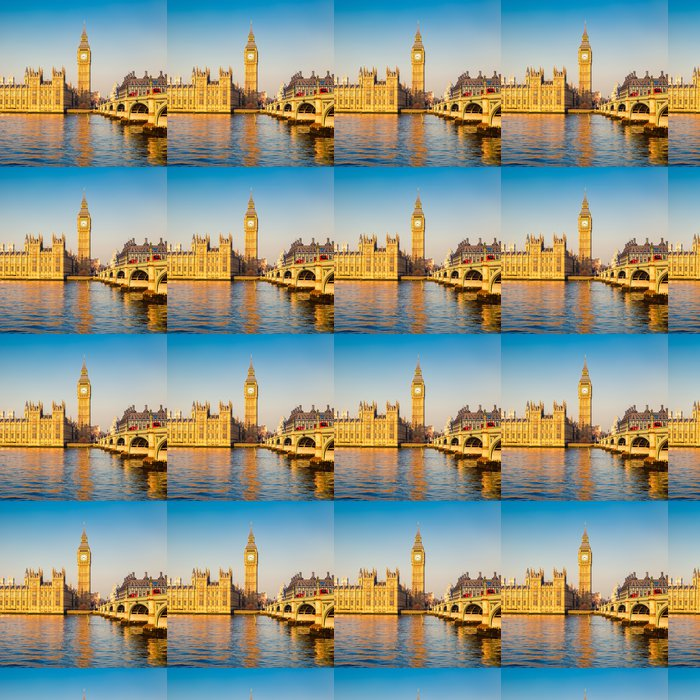 Vinylová Tapeta Big Ben v Londýně - Témata