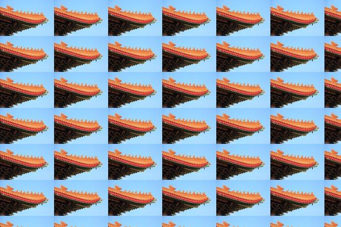 Vinylová Tapeta Čínština chrám střecha - Veřejné budovy