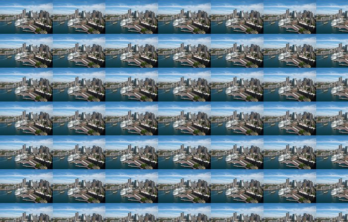 Vinylová Tapeta Sydney město - Soukromé budovy