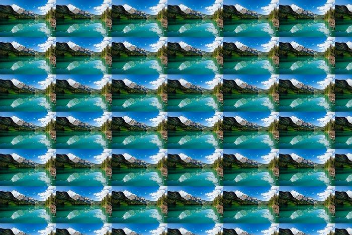 Vinylová Tapeta Emerald lake - Amerika