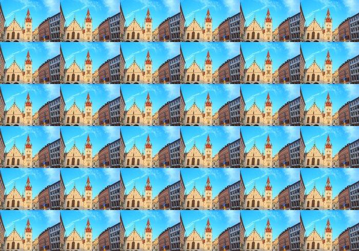 Vinylová Tapeta Městské náměstí Marienplatz z Mnichov Německo - Evropa