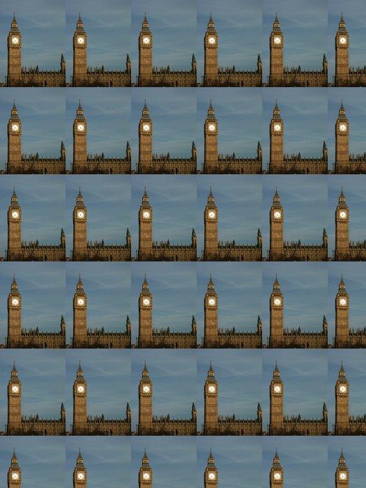 Vinylová Tapeta Big Ben al tramonto - Evropská města