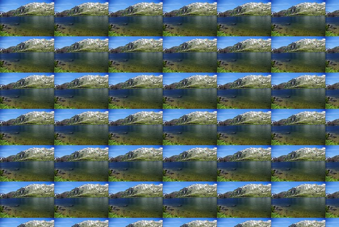 Vinylová Tapeta Svizzera, lago al Passo del San Gottardo (2108 mt) - Prázdniny