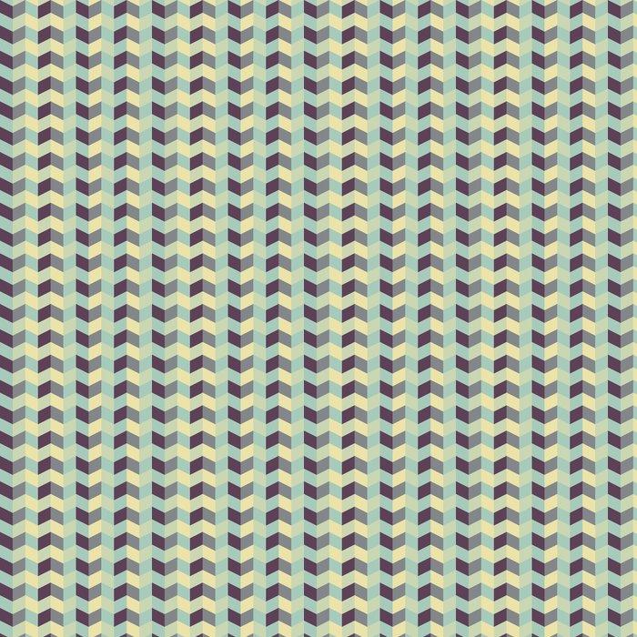 Vinylová Tapeta Abstraktní retro geometrický vzor - Témata
