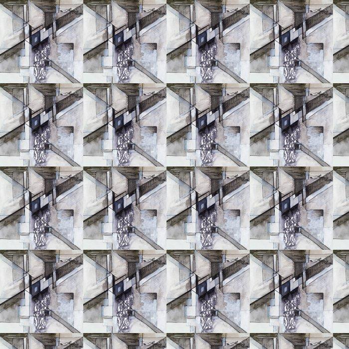 Vinylová Tapeta Abstraktní kresba - Témata