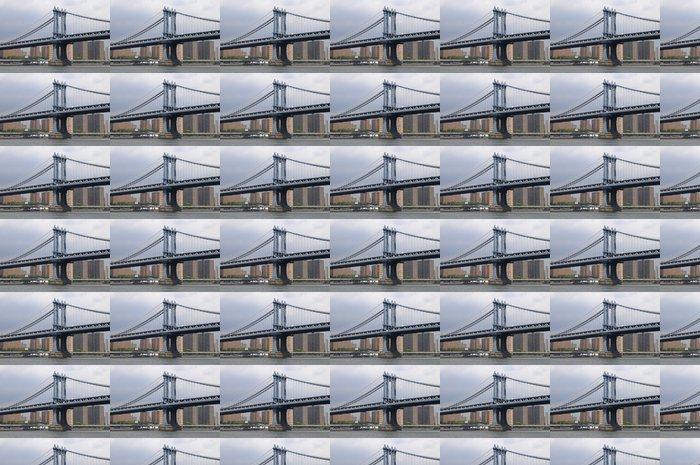 Vinylová Tapeta Manhattan Bridge, prohlédnuté vom East River, New York, USA - Americká města