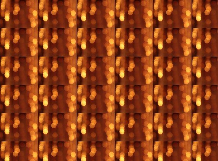 Vinylová Tapeta Slavnostní zlaté pozadí s bokeh efekt - Pozadí