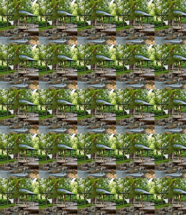 Vinyltapete Natur Garten I - Asien