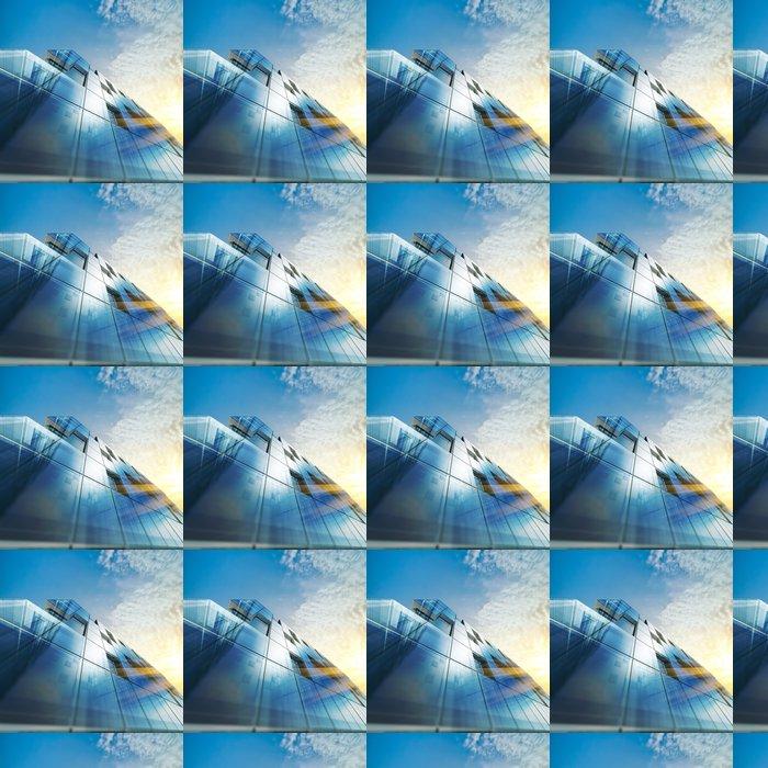 Vinylová Tapeta Abstraktní architektura - Soukromé budovy